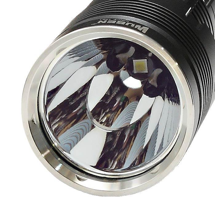 WUBEN T103 PRO フラッシュライト<br>【ウーベン flash light】マウンテンリーコン アウトドア キャンプ 充電池セット 最大1400ルーメン