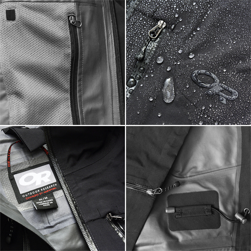 OutdoorResearch フーリオ ジャケット<br>【OR アウトドアリサーチ furio jacket】メンズ ミリタリー カジュアル アウトドア アルパイン 登山用 軽量シェル GORE-TEX ゴアテックス