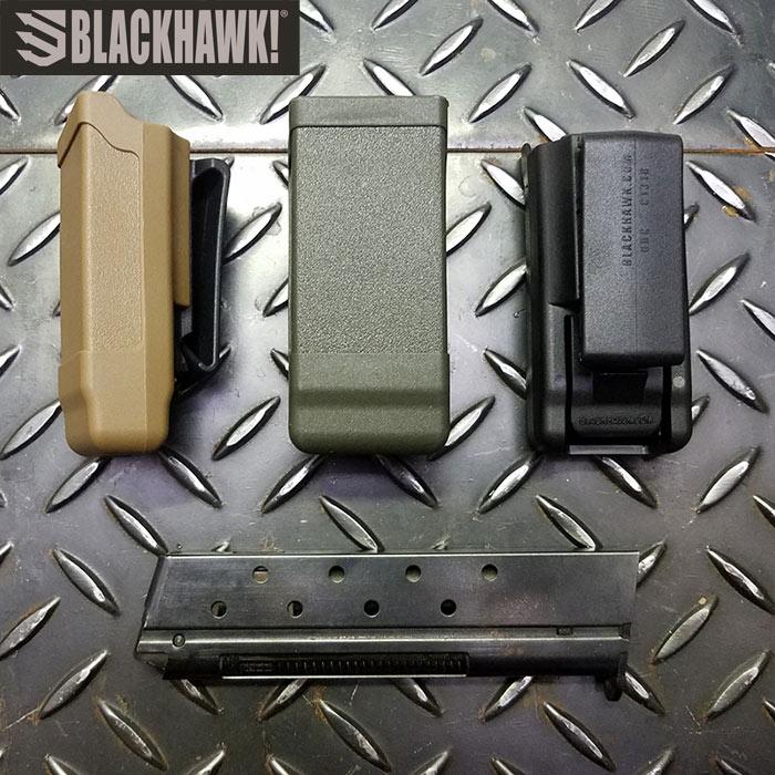 BLACKHAWK 410500 シングルロゥ・マグ ケース<br>【ブラックホーク bh single mag case】ミリタリー サバイバルゲーム サバゲ アウトドア エクイプメント 装備 マガジン カーボンファイバー
