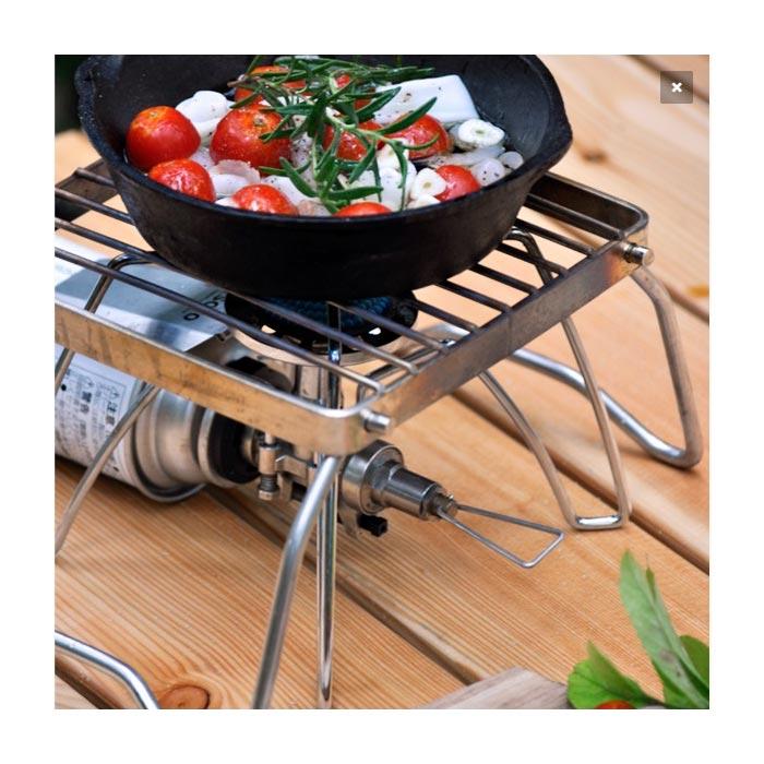 HIGHMOUNT ミニパックグリル<br>【ハイマウント mini pack gril】アウトドア キャンプ BBQ バーベキュー グランピング ゴトク