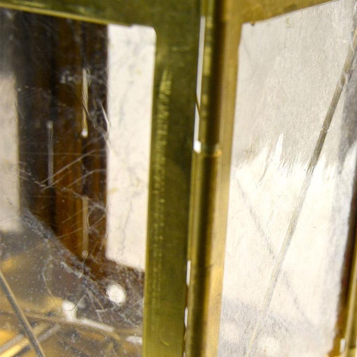 STONEBRIDGE フォールディングキャンドルランタン/レプリカ<br>【ストーンブリッジ Folding Candle Lantern replica】アウトドア キャンプ 折り畳み式 真鍮