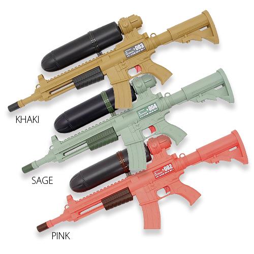 エアマシンガン ウォーターガン<br>【air machine gun water gun】メンズ キッズ ミリタリー 水鉄砲 STマーク 対象年齢6歳以上