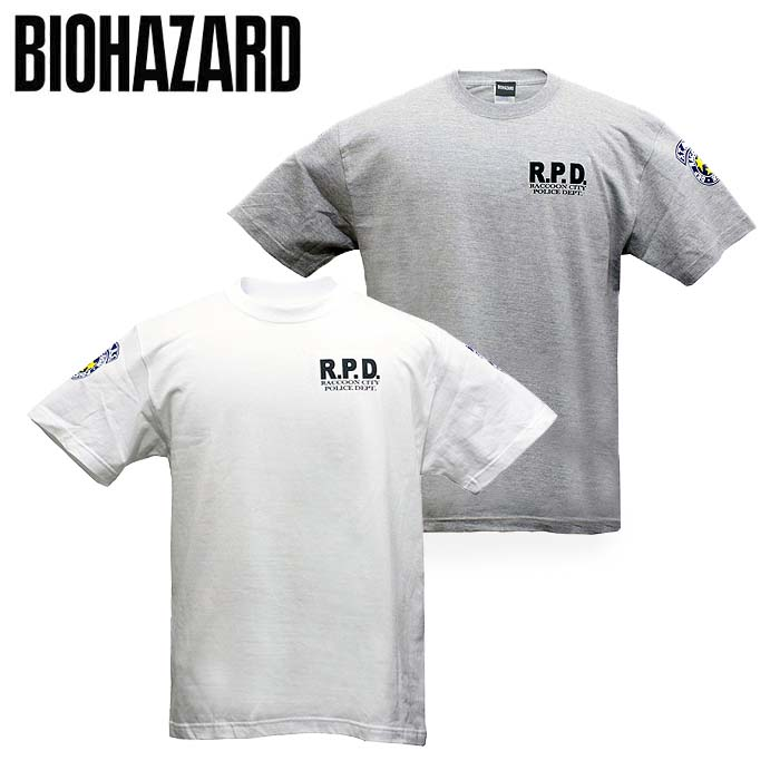 BIOHAZARD S.T.A.R.S. Tシャツ<br>【バイオハザード stars t-shirts】メンズ ゲーム カプコン capcom resident evil 生化危机
