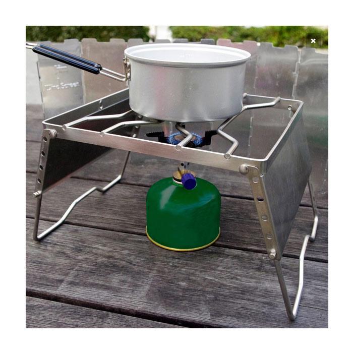 HIGHMOUNT アジャスタブルグリル<br>【ハイマウント adjustable gril】アウトドア キャンプ BBQ バーベキュー グランピング ゴトク