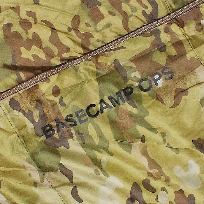 SNUGPAK ノーチラス スクエア センタージップ/テレインカモ<br>【スナグパック nautilus square center zip】アウトドア キャンプ マウンテンリーコン 寝袋 スリーピングバッグ