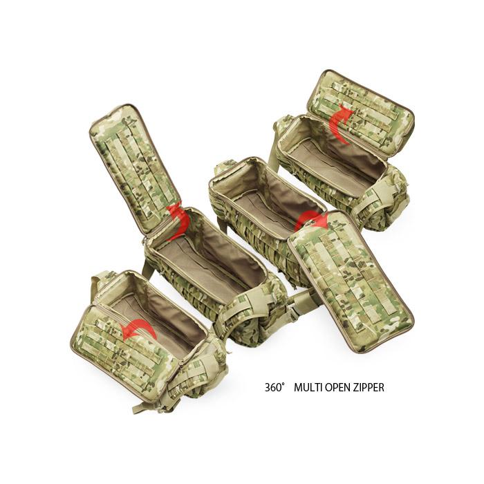 ARMA STRIKE ALPHA/A-TACS GHOST<br>【アルマ ストライク アルファ】メンズ ミリタリー アウトドア サバイバルゲーム サバゲ コーデュラナイロン ワンショルダーバッグ ボディバッグ