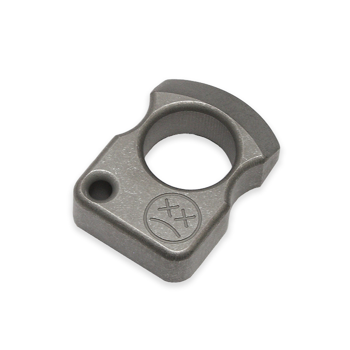 EDC シングルフィンガーリング・キーホルダー/ソリッド<br>【everyday carry single finger ring key holder solid】エブリデイキャリー アウトドア