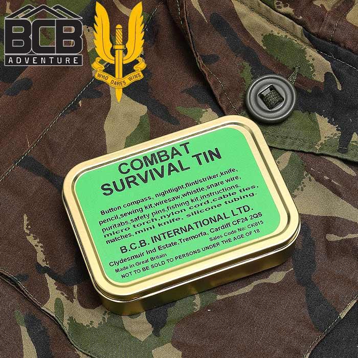 BCB コンバットサバイバルキット<br>【combat survival kit】ミリタリー アウトドア ブッシュクラフト SAS