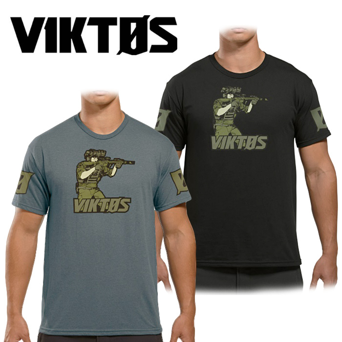 VIKTOS ライブボール Tシャツ<br>【ヴィクトス ビクトス Live Ball Tee】メンズ ミリタリー カジュアル Tシャツ