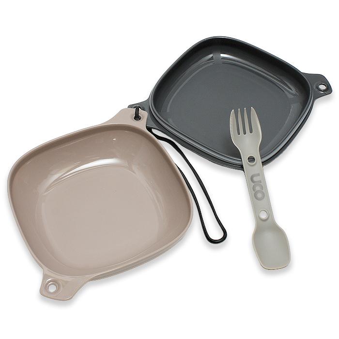 UCO 4ピースメスキット<br>【ユーコ 4piece mess kit】アウトドア キャンプ バーベキュー 食器セット クッキングセット
