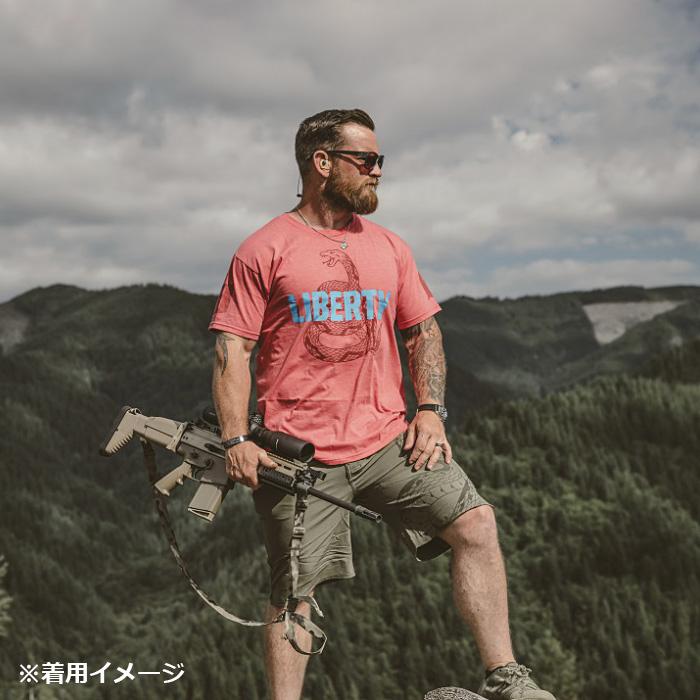 VIKTOS リバティースネーク Tシャツ<br>【ヴィクトス ビクトス Liberty Snake Tee】メンズ ミリタリー カジュアル Tシャツ