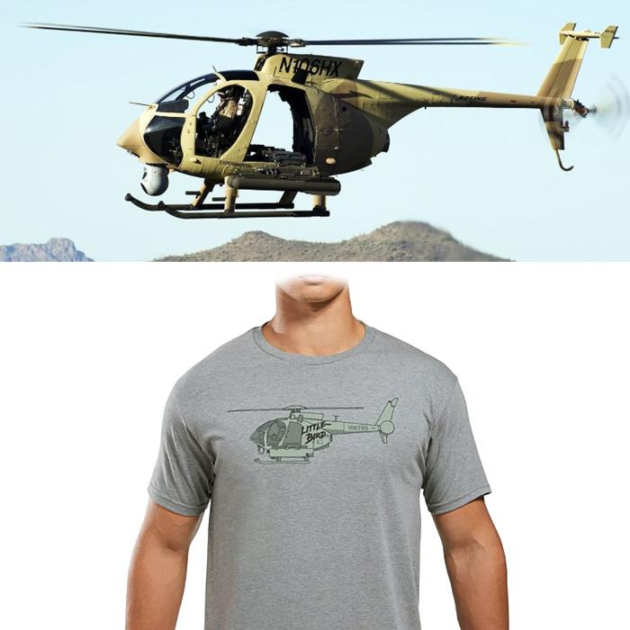 VIKTOS リトルバード Tシャツ<br>【ヴィクトス ビクトス Little Bird Tee】メンズ ミリタリー カジュアル Tシャツ