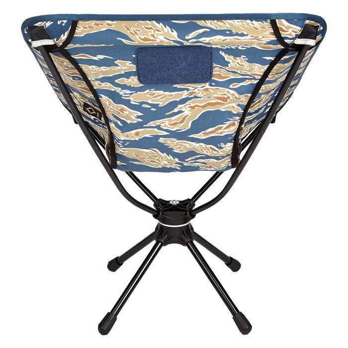 ヘリノックス タクティカル スウィベルチェア / タイガーストライプカモ 【HELINOX Tactical Swivel Chair】マウンテンリーコン アウトドア ミリタリー アルミニウム合金 折りたたみ 軽量 コンパクト収納 回転チェア