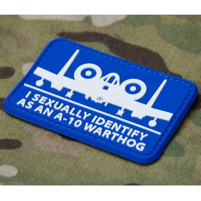 MSM A-10 SEXUALLY PVC PATCH<br>【MIL-SPEC MONKEY ミルスペック・モンキー パッチ】ミリタリー ワッペン ベルクロ付き BDU
