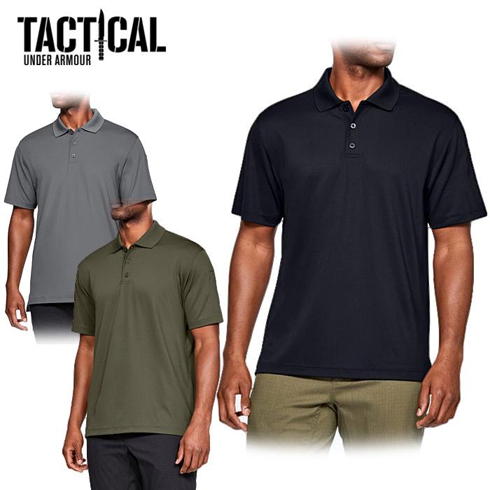 UA TACTICAL パフォーマンス ポロ <br>【Under Armour Tactical アンダーアーマータクティカル Performance Polo】日本未発売 特殊部隊 軍用 吸汗速乾 ヒートギア TACTICAL TEC