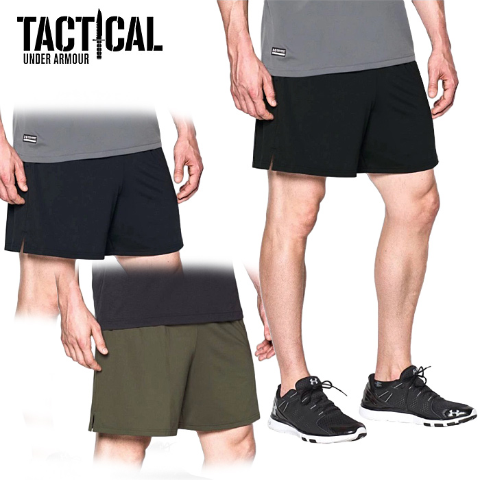 UA TACTICAL テック ショーツ <br>【Under Armour Tactical アンダーアーマータクティカル】日本未発売 特殊部隊 軍用 吸汗速乾 ヒートギア タクティカルテック