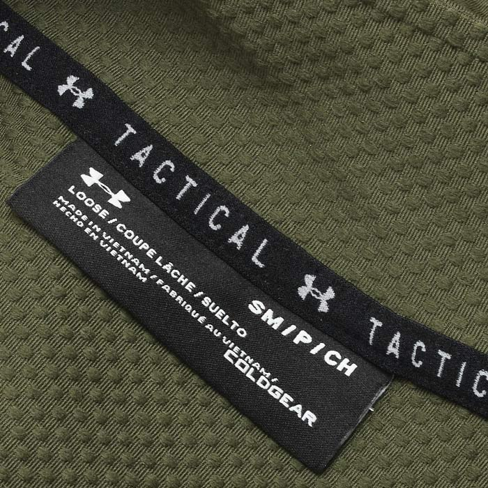 Under Armour Tactical ライトウェイト 1/4 ジップシャツ<br>【アンダーアーマー タクティカル Allpurpose 1/2 Zip Shirts】ミリタリー カジュアル メンズ シャツ 日本未発売