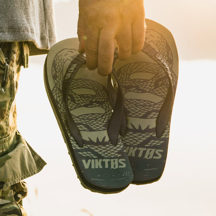 VIKTOS シュビル トレッドノート サンダル<br>【ヴィクトス ビクトス chuville treadnought sandal】メンズ ミリタリー アウトドア R&R Rest and Recreation ビーチサンダル ビーサン
