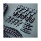 ITW NEXUS ELASTIC CODE KIT 【ITW ネクサス エラスティックコードキット】ミリタリー サバイバルゲーム サバゲ アウトドア Dリング リペア