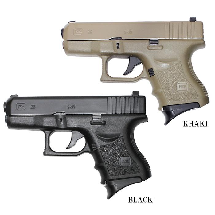 ハンドガン ターボライター / G26<br>【hand gun turbo lighter】ミリタリー グロック glock 喫煙具 内燃式ライター 灰皿付