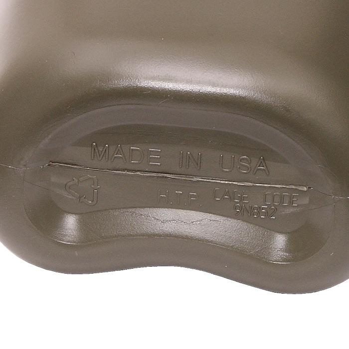 US 1QT キャンティーン/HARDタイプ<br>【米軍仕様 新品 Collapsible Canteen】ミリタリー サバイバルゲーム サバゲ アウトドア レプリカ 水筒