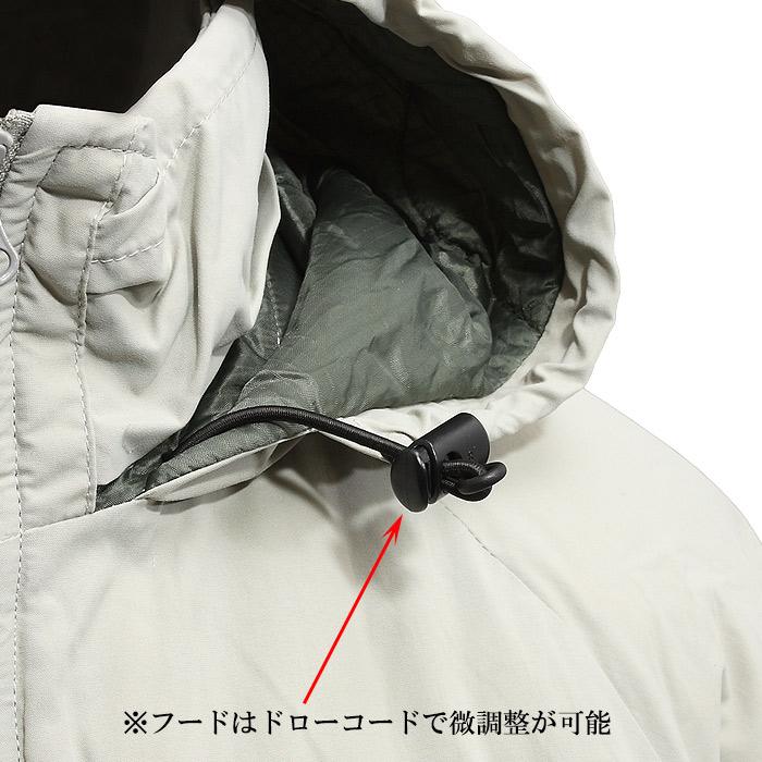 ALPHA TA1414 ECWCS MOD GEN3 Level7ジャケット<br>【アルファ エクワック レベル7 モディファイド】メンズ ミリタリー カジュアル Primaloft プリマロフト