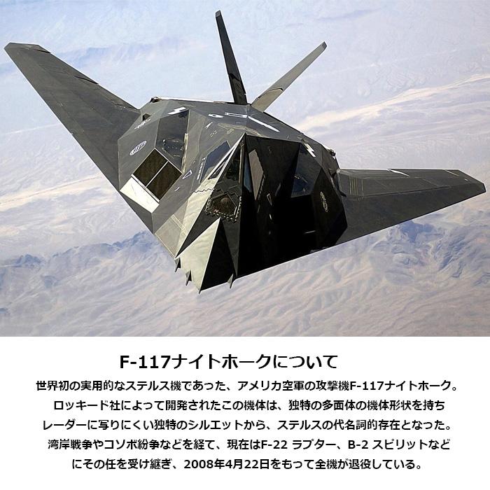 AVIREX 6103419 シャドウ F-117A Tシャツ<br> 【アヴィレックス SHADOW F-117A T-SHIRT】メンズ ミリタリー カジュアル