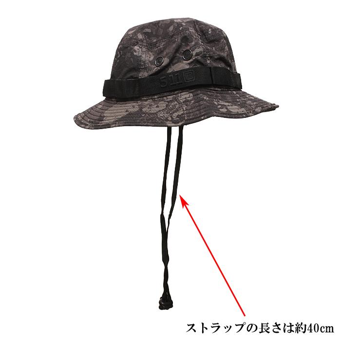 5.11 89422G7 GEO7 ブーニーハット<br>【ファイブイレブン GEO7 Boonie Hat】メンズ ミリタリー ブー二ーハット
