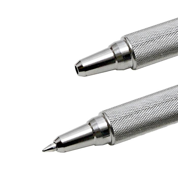 ZEBRA F-701 ボールペン<br>【ゼブラ ballpoint pen】ミリタリー 国内未発売 金属軸 ステンレススチール