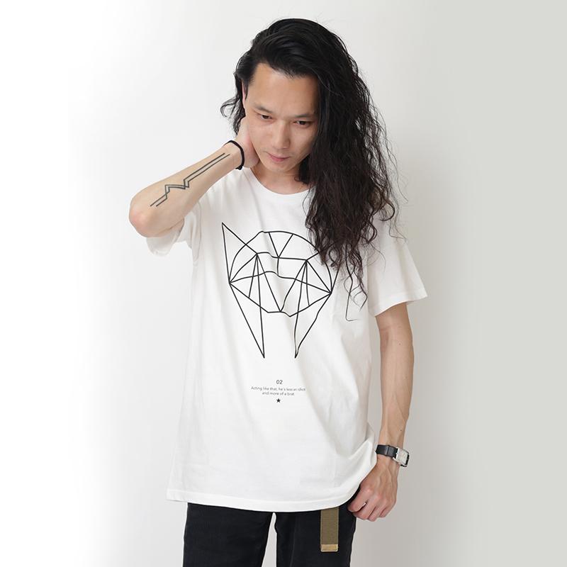 GEOMETRIC ASUKA T-Shirt (ホワイト)
