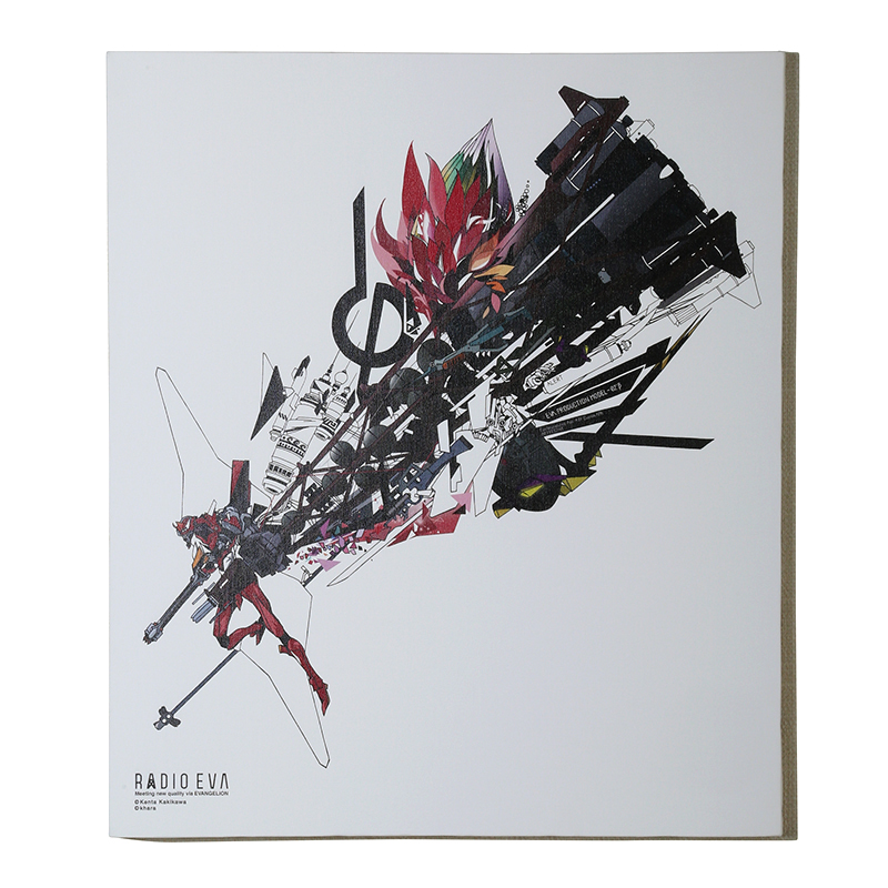 EVA Canvas Art (illustration)改2号機β(KENTA KAKIKAWA)