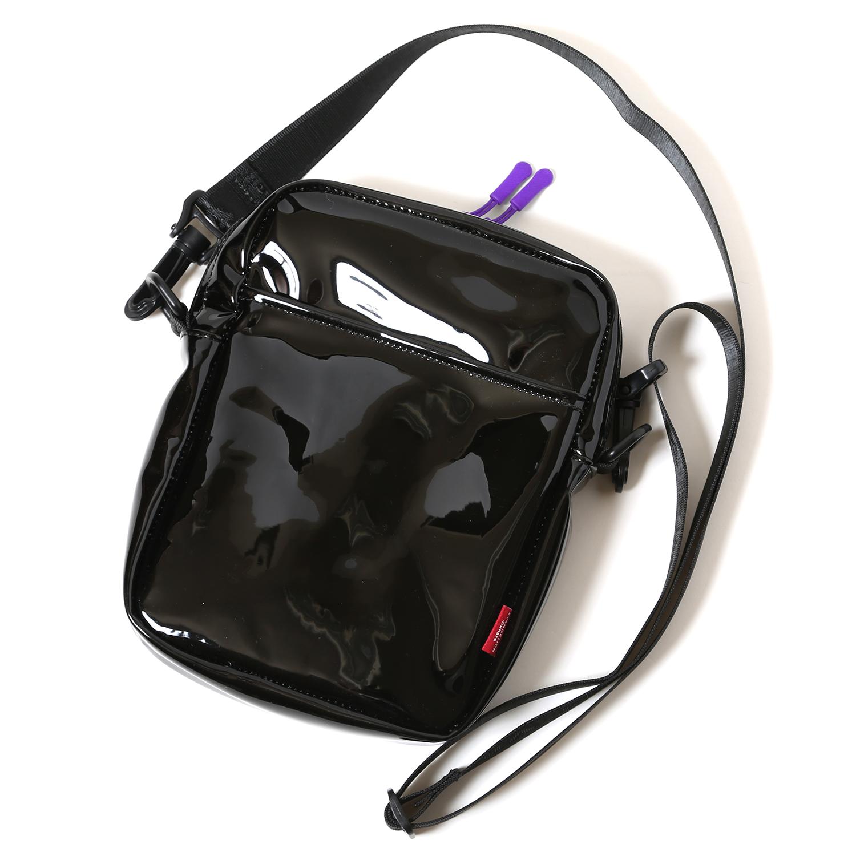 FILA CLEAR MINI SHOULDER BAG EVANGELION LIMITED (BLACK(EVA-01))