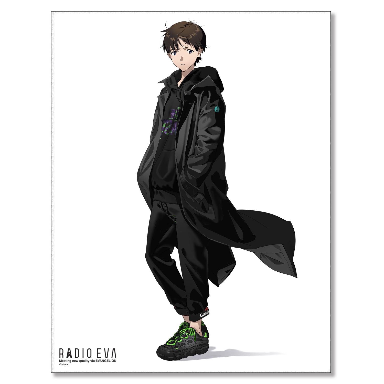 EVA Canvas Art (illustration)シンジ(RADIO EVA STORE)