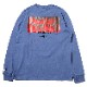 3rd Impact Pt. L/S TEE by MARK GONZALES (S.PURPLE)