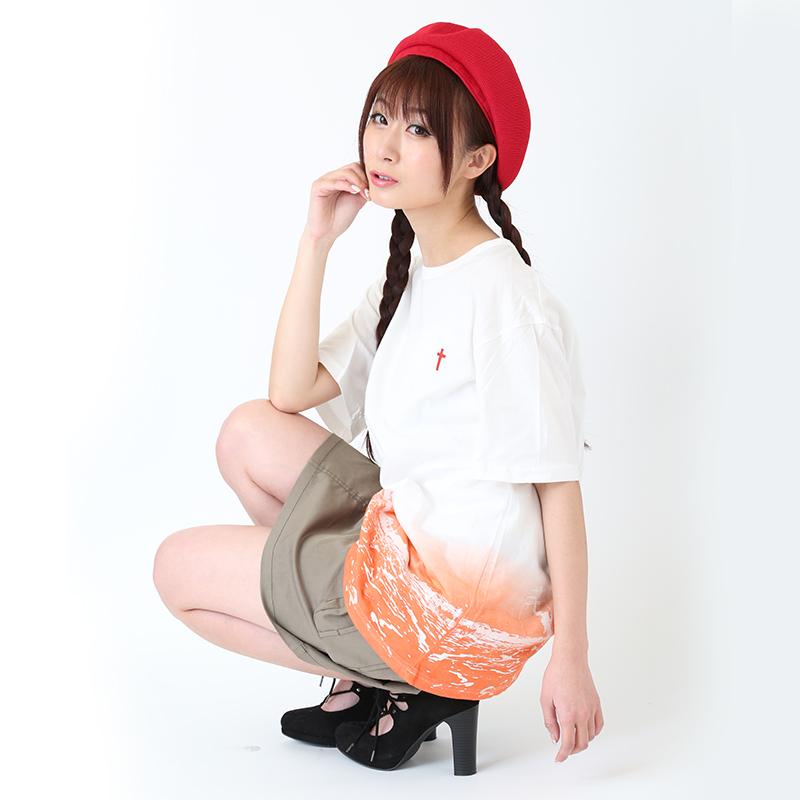 波打際 T-Shirt (ホワイト)