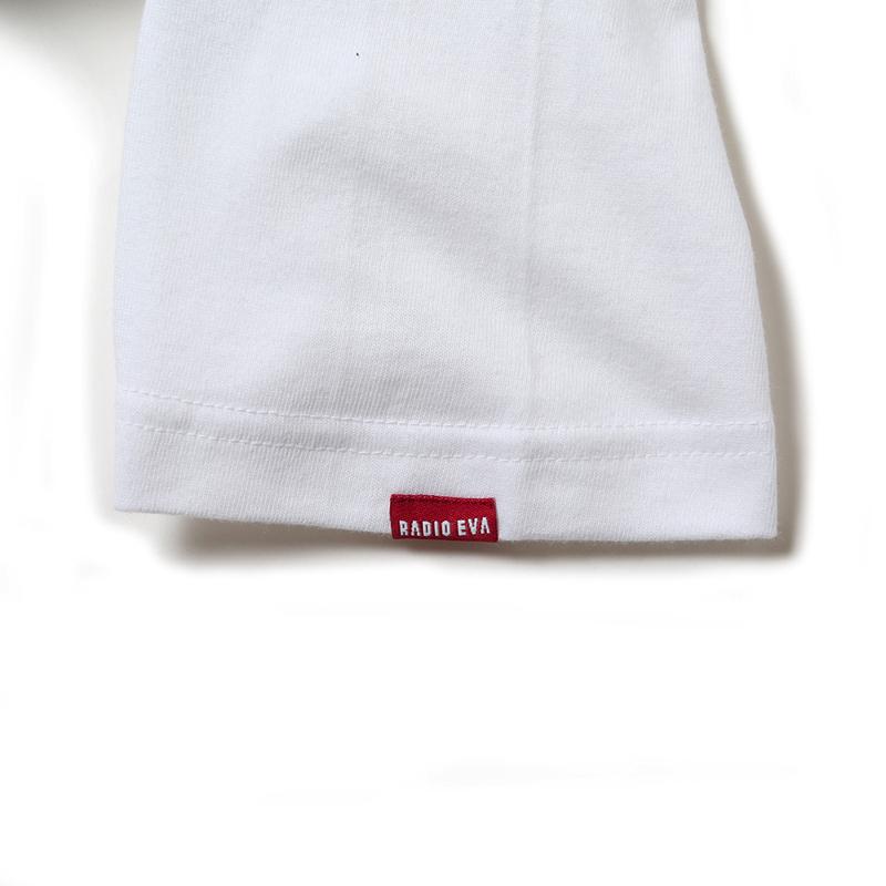 NERV Letter T-Shirt V(ホワイト)