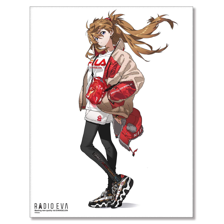 EVA Canvas Art (illustration)アスカ(RADIO EVA STORE)