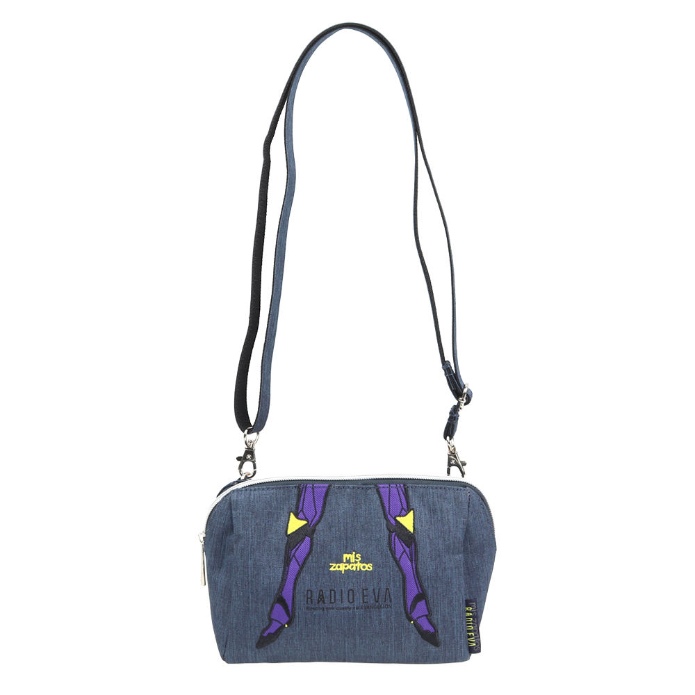 EVANGELION Pouch Shoulder Bag by mis zapatos (ブラック(初号機))