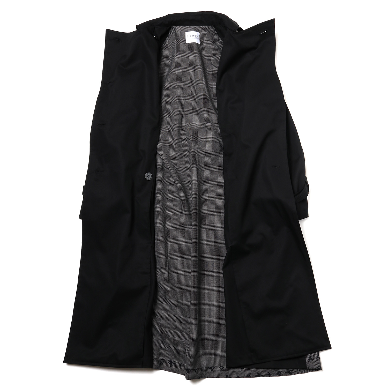 Check on EVA Trench Coat (BLACK)