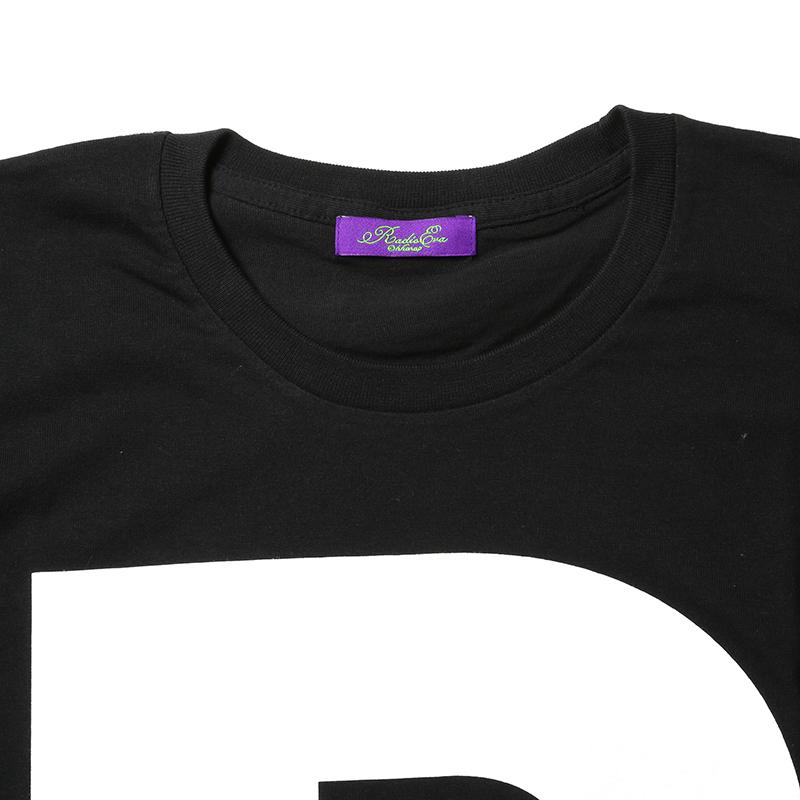 NERV Letter T-Shirt R(ブラック)