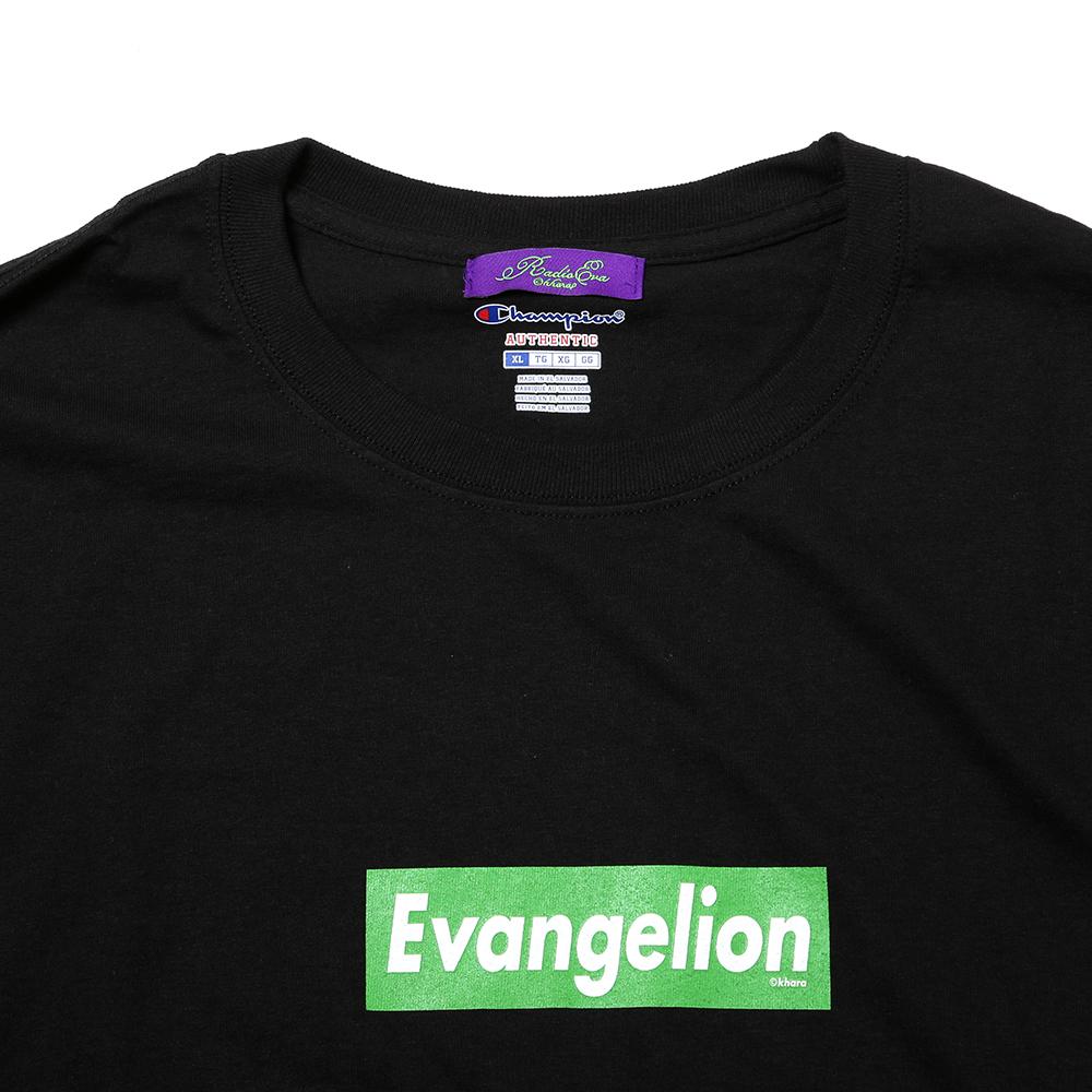 EVANGELION BOX LOGO CUTSEW (ブラック)