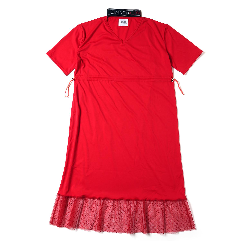 CAN(NOT) Choker Dress (レッド)