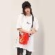 FILA CLEAR MINI SHOULDER BAG EVANGELION LIMITED (RED(ASUKA))