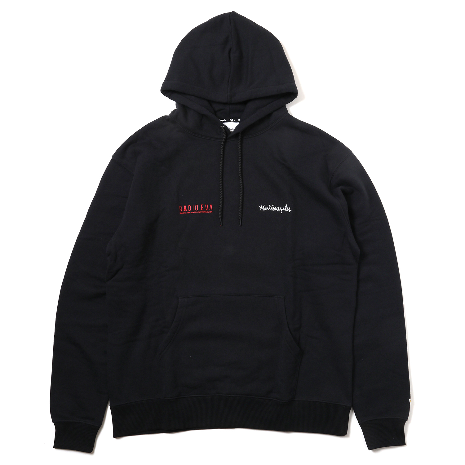 Kaworu Pt. HOODIE by MARK GONZALES (BLACK)