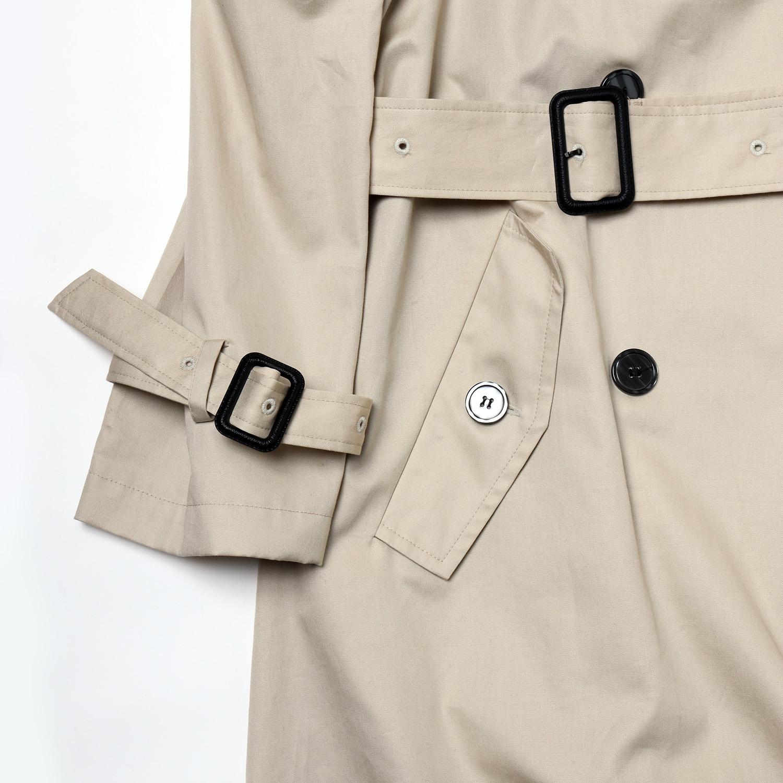 Check on EVA Trench Coat (BEIGE)