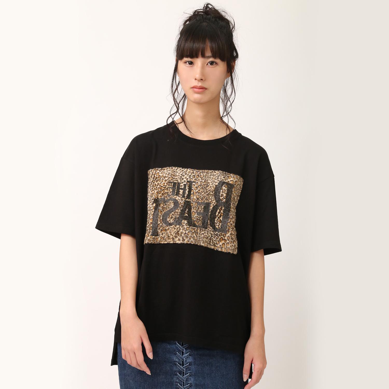 "THE BEAST ""Boost"" T-Shirt (ブラック)"