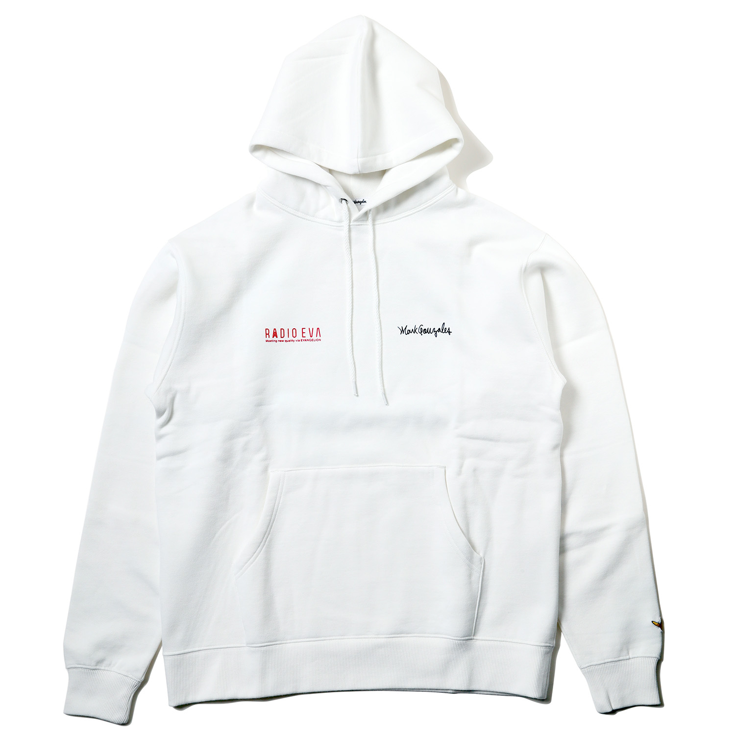 Kaworu Pt. HOODIE by MARK GONZALES (WHITE)