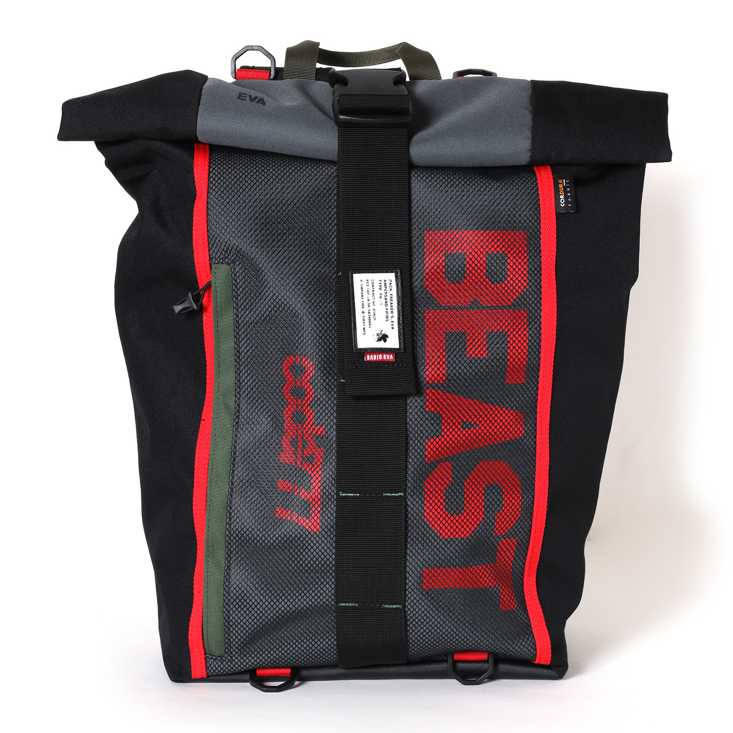 EVANGELION ROLL BACK PACK by FIRE FIRST (THE BEAST MODEL)