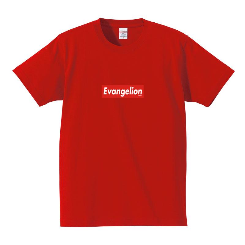 EVANGELION BOX LOGO T-Shirt (レッド×レッド(アスカ))