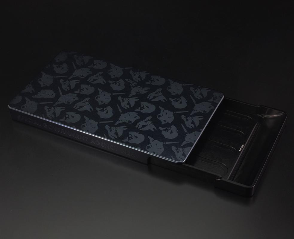 EVA DURALUMIN CARD CASE (Black×Navy(渚カヲル))